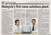 Malaysia-first-nano-solutions-plant